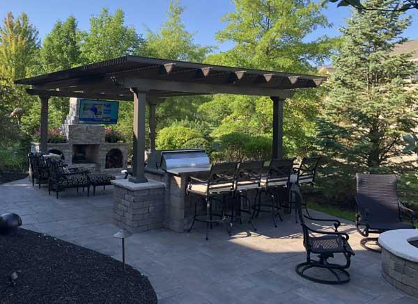 create an outdoor oasis