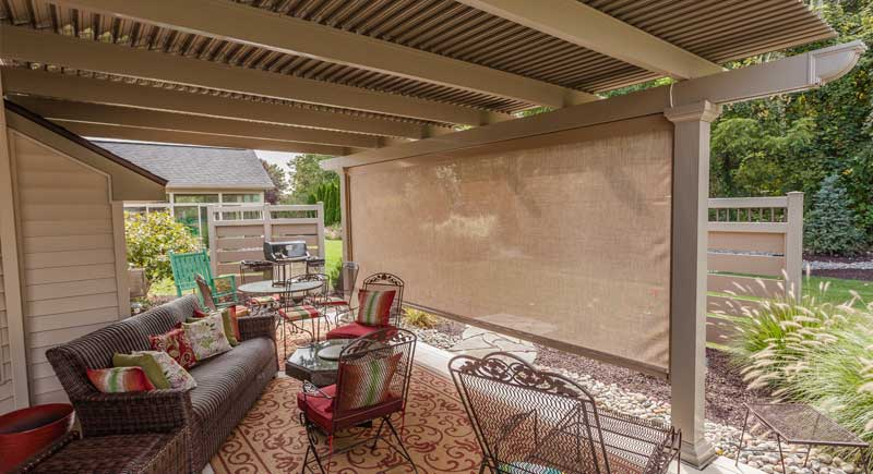 retractable shade screen fabric