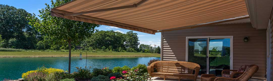 retractable awning - sunesta