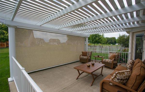 outdoor patio shade